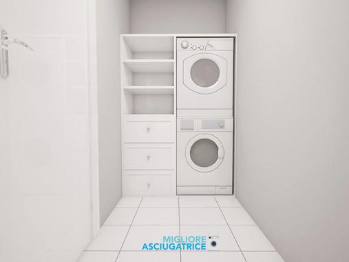 Installazione-asciugatrice